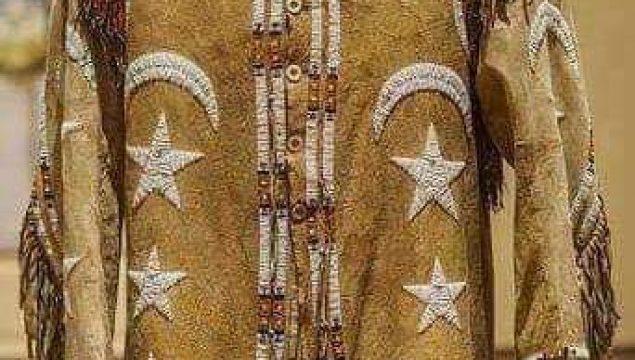 Abd'nin Dakota eyaletinde bulunan Kızılderili kıyafeti